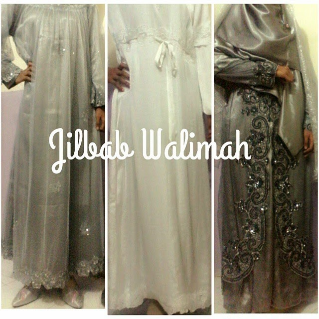 jilbab walimah syari