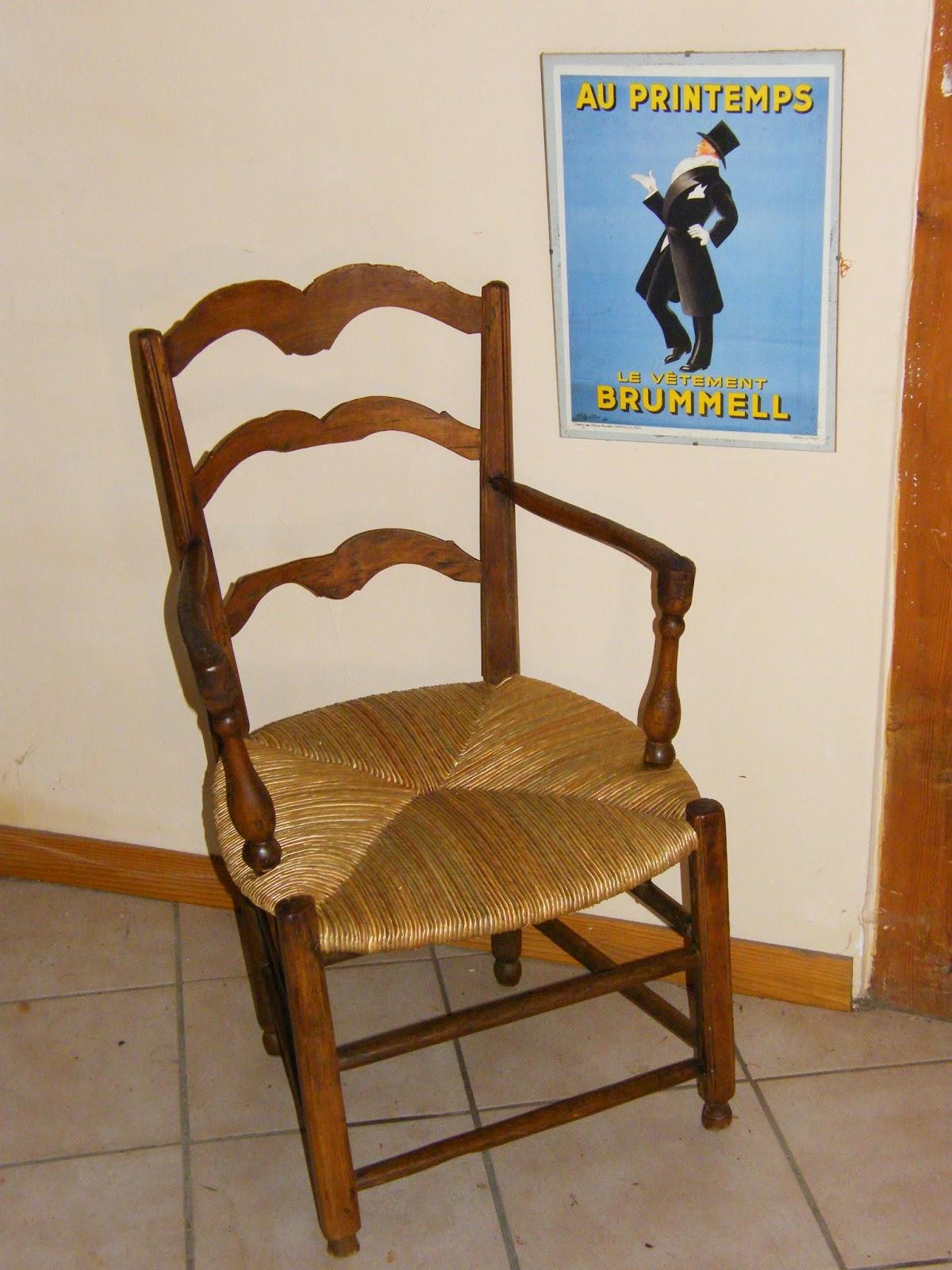 Normandie cannage refaire un rempaillage de fauteuil - Restaurer un canape ...
