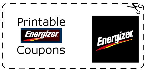 graphic about Printable Battery Coupons called Energizer battery printable discount coupons 2018 : Offers within las vegas