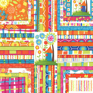 Moda SNAP POP Quilt Fabric by Sandy Gervais