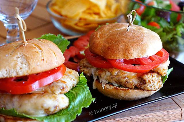 Spicy Chicken Burgers