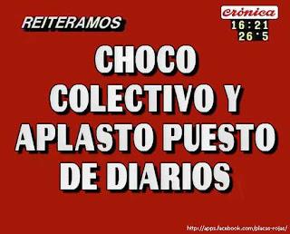Placa de Crónica TV