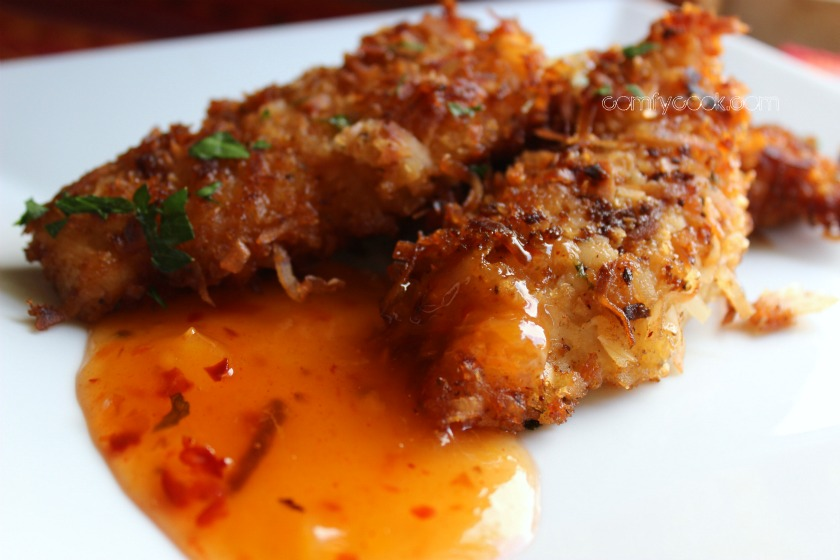 ... Cuisine: Coconut Chicken Tenders with Sweet and Sassy Dipping Sauce