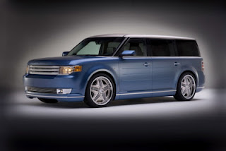 Blue color Ford Flex images