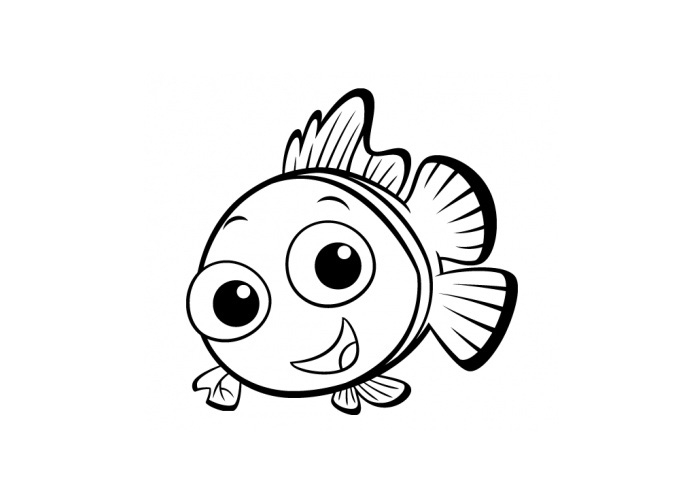 baby fish coloring pages come and learn together cara cara melukis ikan