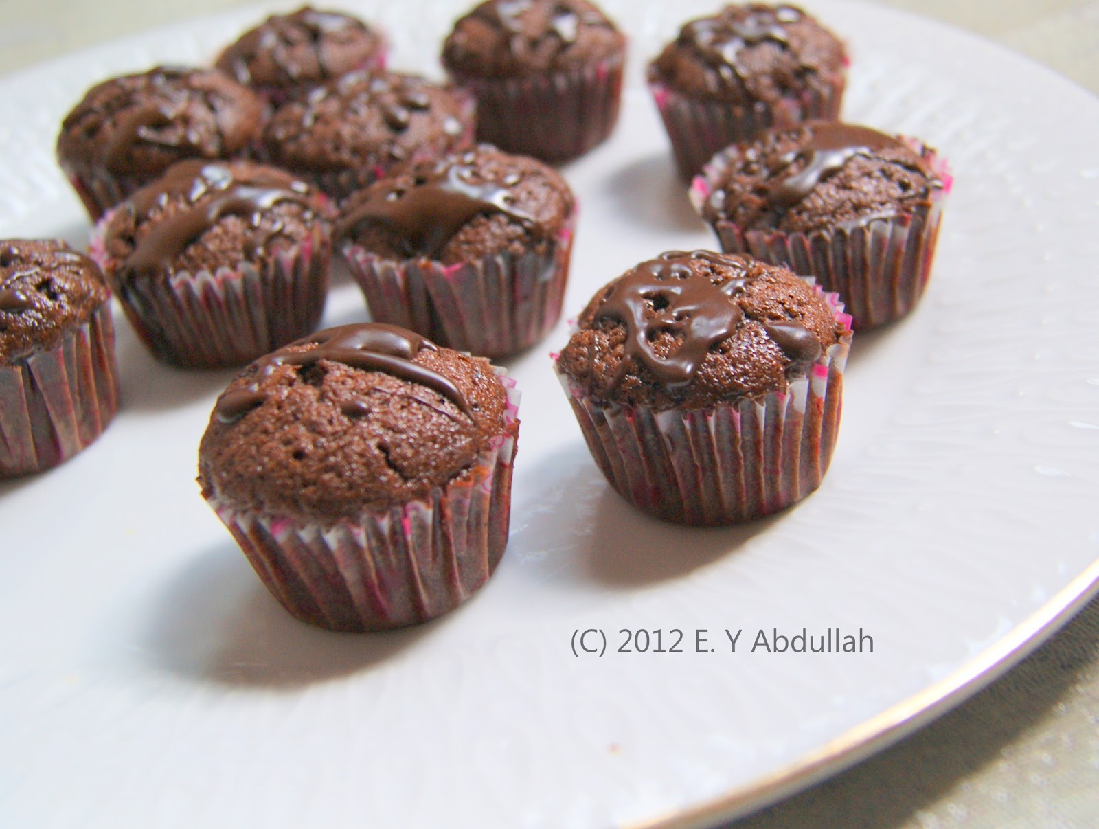 Chocolate Mini Cupcakes Giada