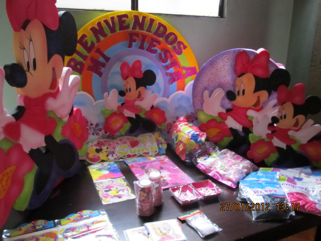 Minnie decoraciones fiestas infantiles for Decoracion fiestas tematicas