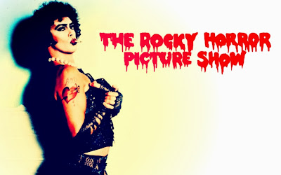 Tim Curry in The Rocky Horror Picture Show www.thebrighterwriter.blogspot.com