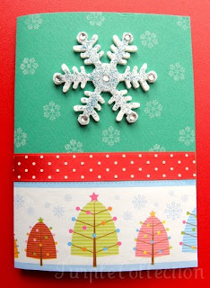 Christmas Cards, snowflakes
