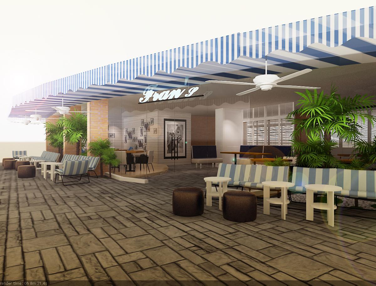 Outdoor Cafe Design Ideas - Popular Home Designs