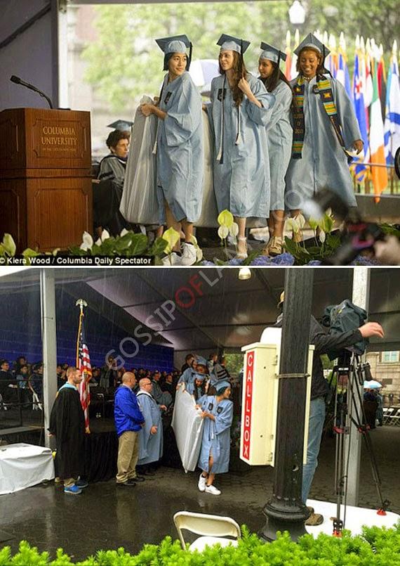 Columbia student takes rape-protest mattress to graduation