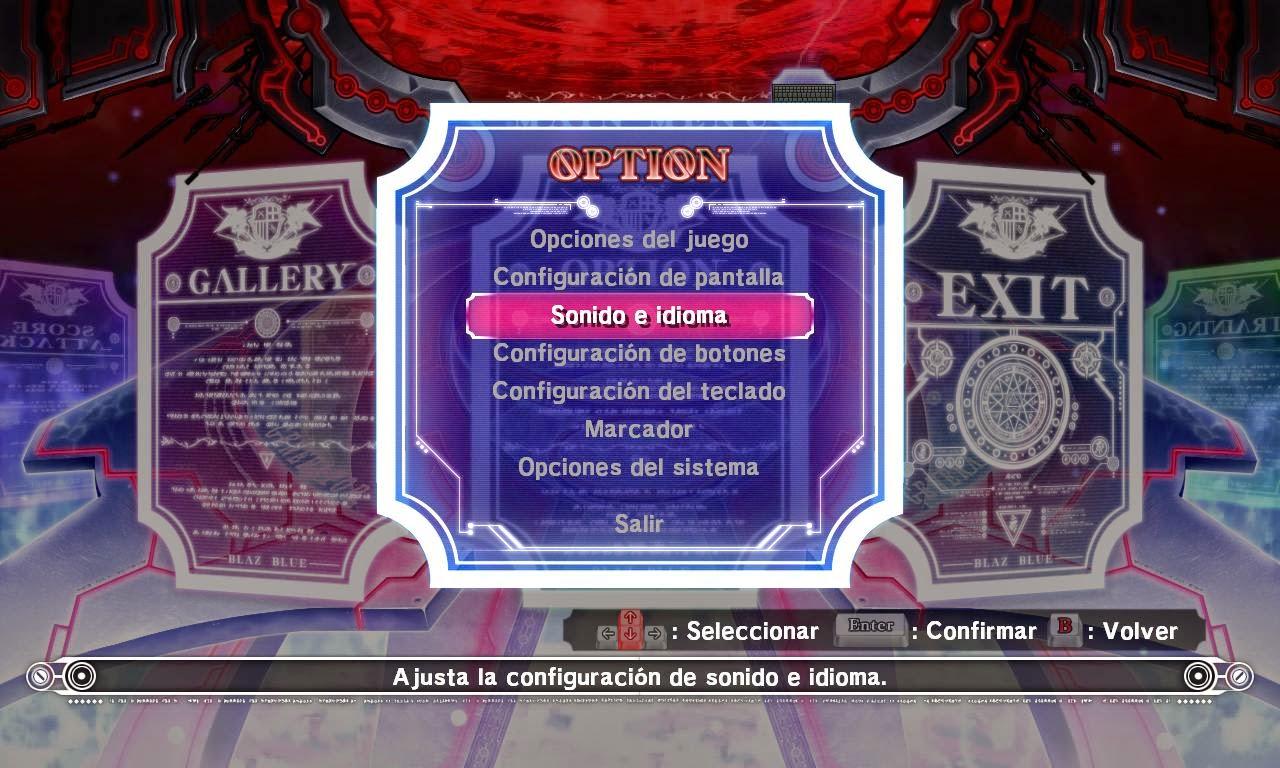 BlazBlue Calamity Trigger PC Full Español (Textos) [MG] [FC]