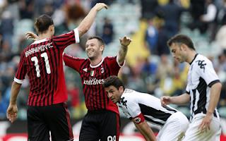 أهداف مباراة ميلان وسيينا 4-1 في الدوري الايطالي 29-4-2012