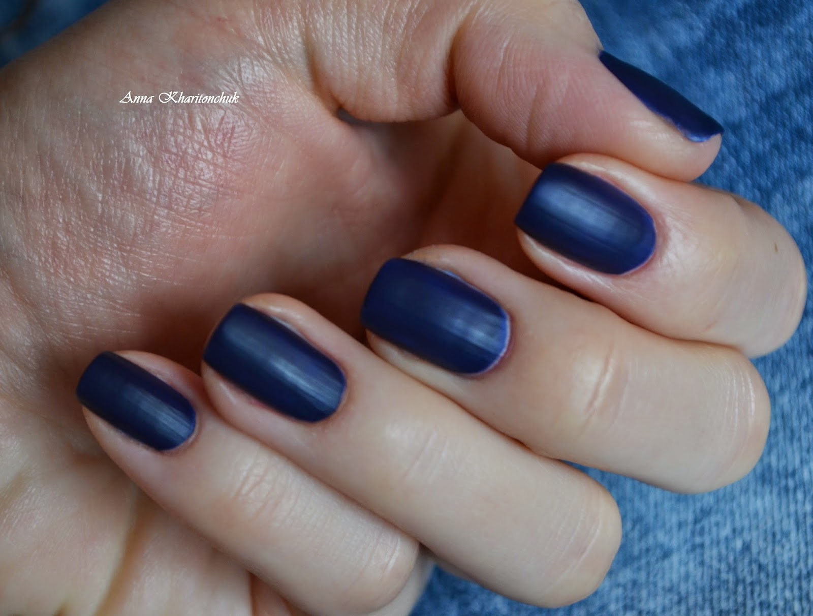 Rimmel London Velvet Matte # 015 Midnight Kiss и стемпинг с плитки BP-L 003