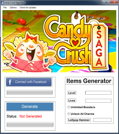 Candy Crush Item Generator Download