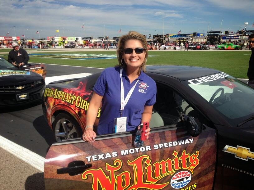 Karen Borta, Texas Motor Speedway, Beauty Secrets