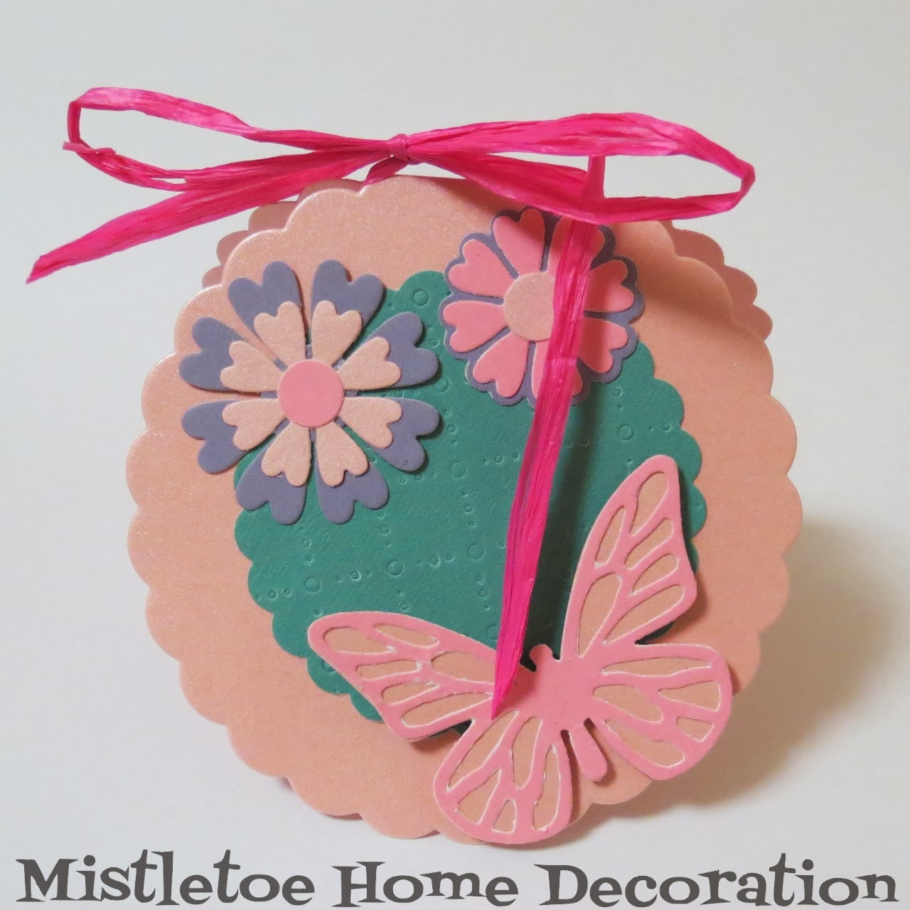 Mistletoe home designs sizzix diy birthday card with flowers and sizzix diy birthday card with flowers and butterfly bookmarktalkfo Image collections