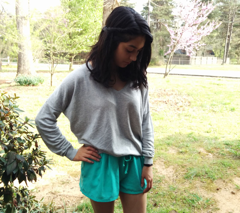 forever21-shorts-h&m-sweater