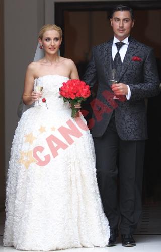 Nunta cu stil: Alexandru Ciucu & Alina Sorescu