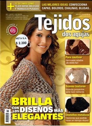 Revista Tejido Facil En Dos Agujas