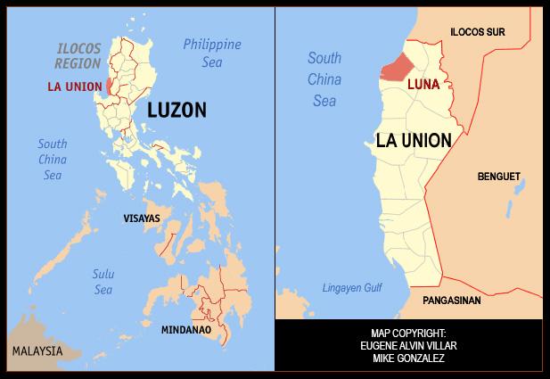 Luna La Union First Town Exploration This Via - Launion map