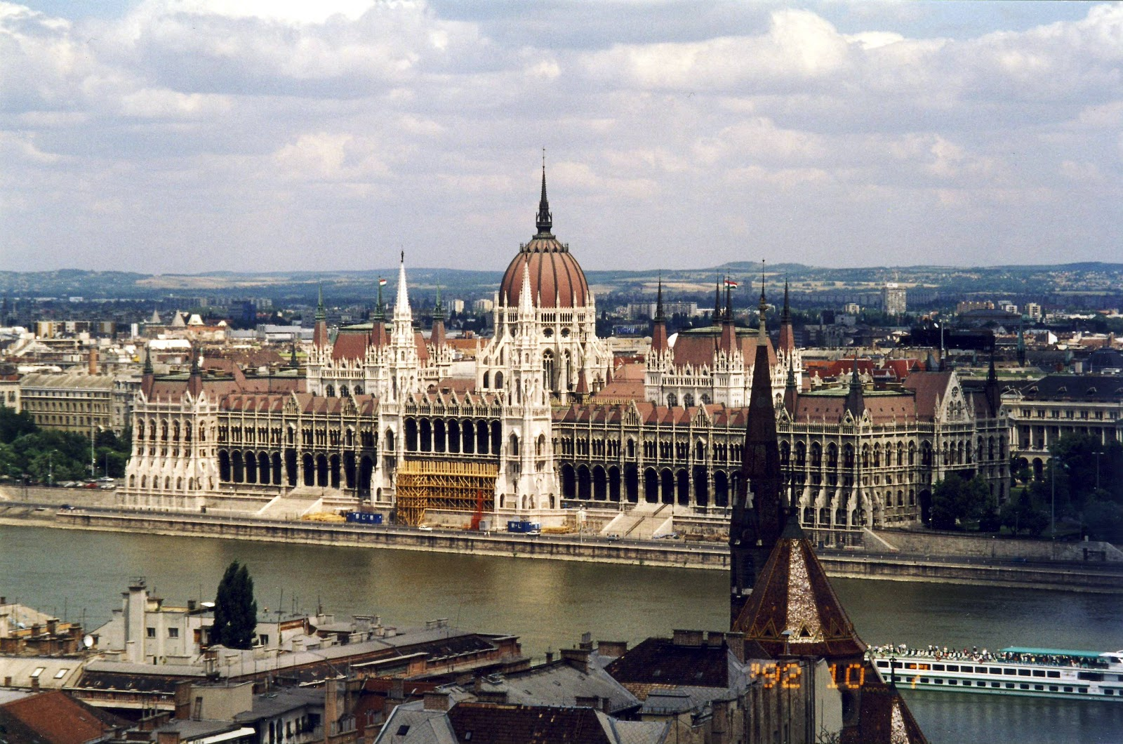 Budapest Hungary  City new picture : wanderings: Houses of Parliament, Budapest, Hungary, July 2002