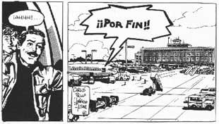 Página das tiras em quadrinhos do personagem El Loco Chávez