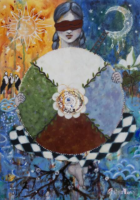 The Wheel of Fortune, Galia Alena, tarot