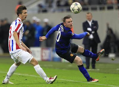 Otelul Galati 0 - 2 Manchester United (1)