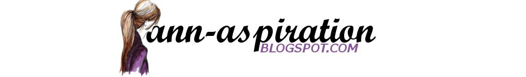 ANNA | ASPIRATION | INSPIRATION