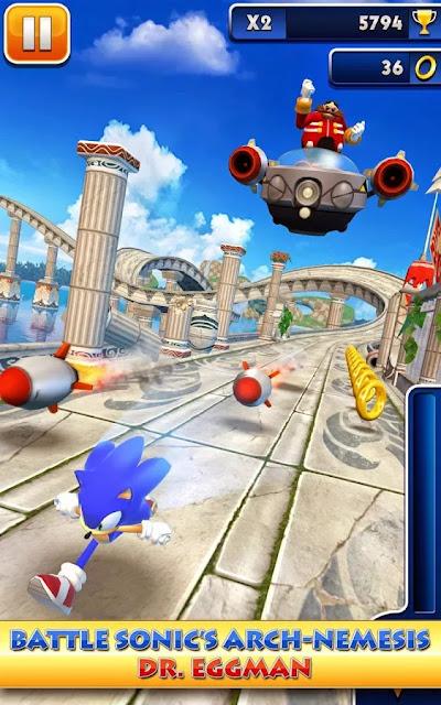 Android Sonic Dash Apk resimi 7