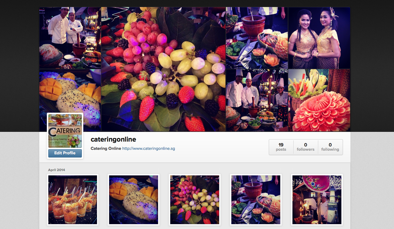 Orange Clove Catering On Catering Online Instagram