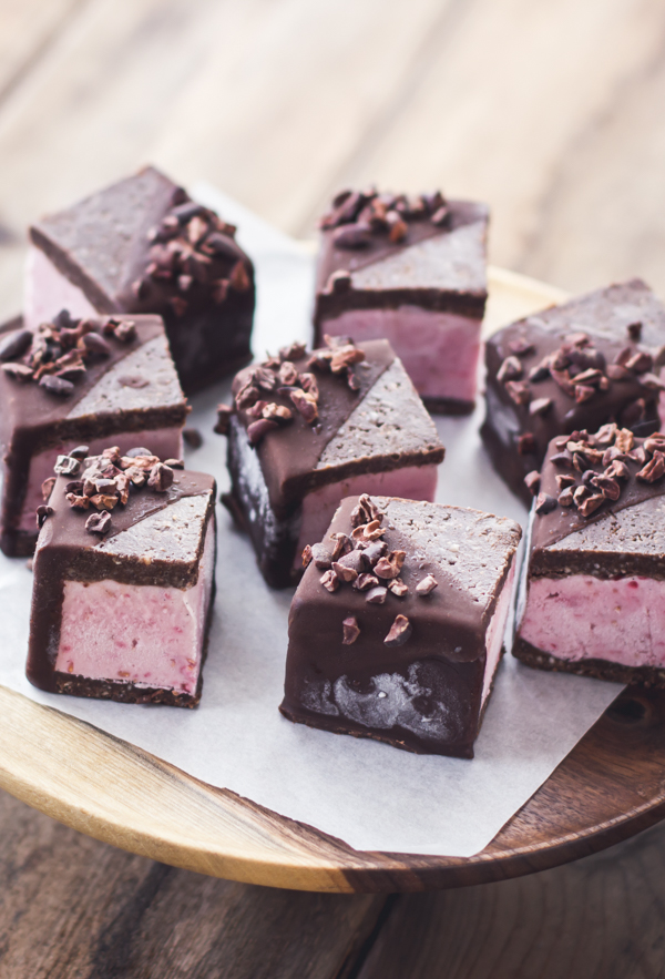 Raspberry Brownie Ice Cream Sandwiches (from The Bojon Gourmet)...is there a more perfect dessert combination than this? | Friday Favorites at www.andersonandgrant.com