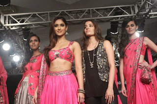 Ileana DCruz Showstopper at LFW 2014 (9).jpg