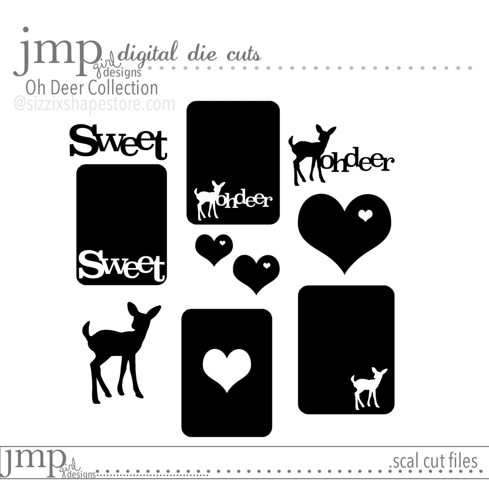 jmpgirl designs | sizzix shape store #digitalcutfiles @jamiepate