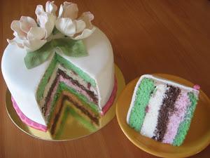 Moje torty w przekroju