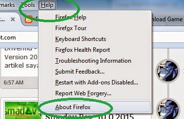 Cara Mudah Update Mozila Firefox ke Versi Terbaru