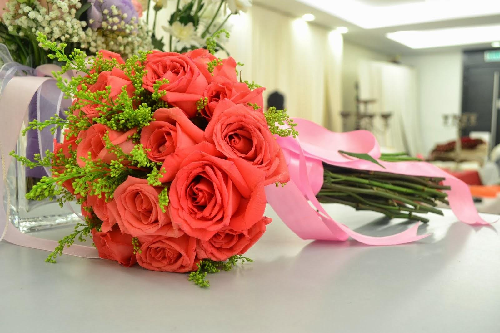 Contoh Bunga Tangan