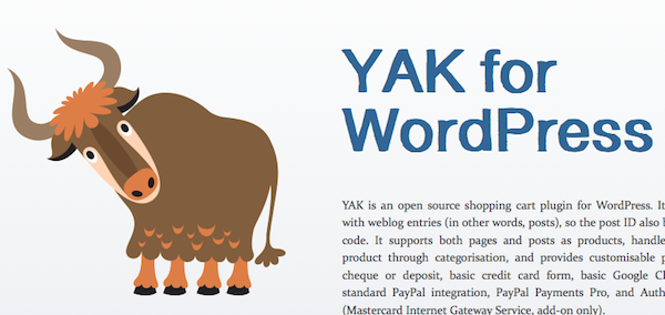 YAK for WordPress