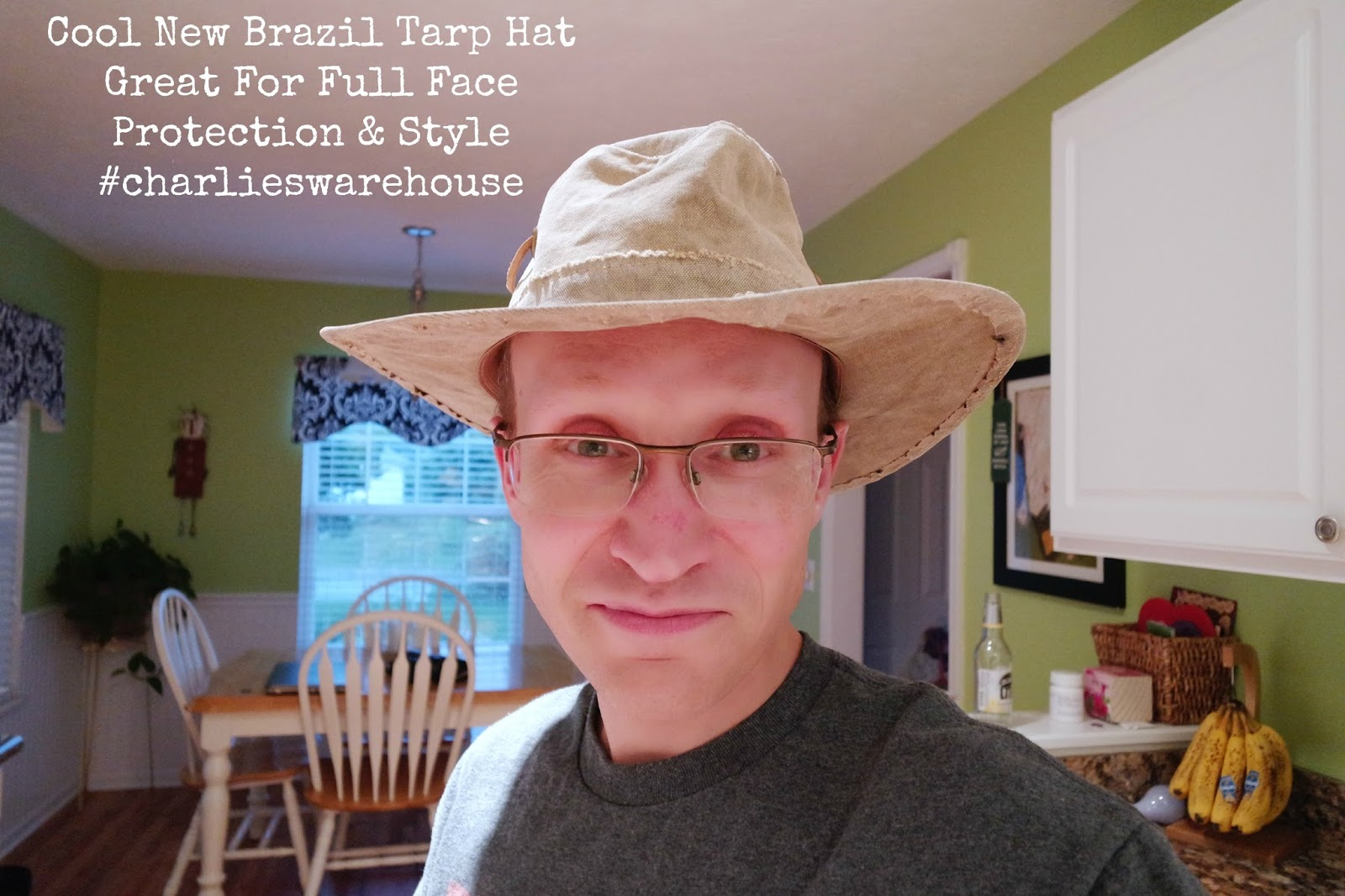 Real Deal Brazil Tarp Hat Gives You Style   Protection  charlieswarehouse 624197c224b