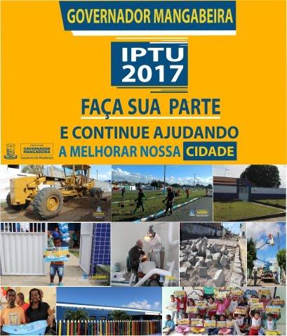 IPTU 2017 Governador Magabeira