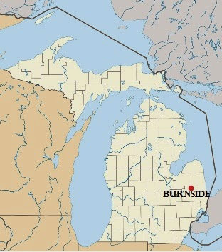 Climbing MY Family Tree: Burnside Michigan Map