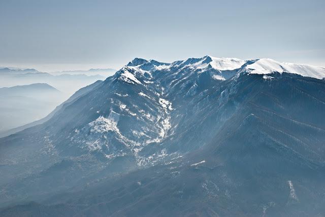 Pizzo Deta e il monte Passeggio