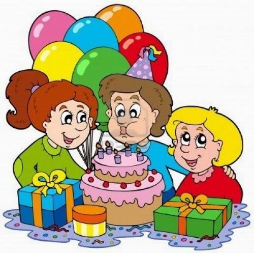 Chiste de cumpleaños, cumpleañera, ilusionada, fotos, signos.