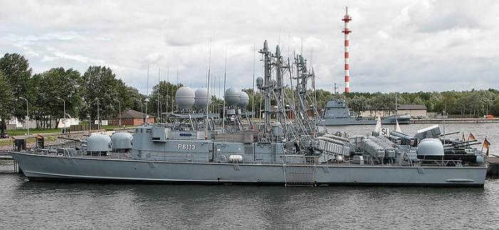 Fast Attack Craft. Albatros Class, Jerman