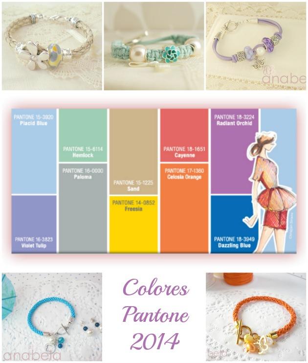 pulseras de colores pantone