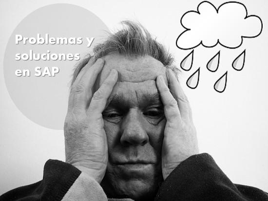 Problemas y soluciones en SAP