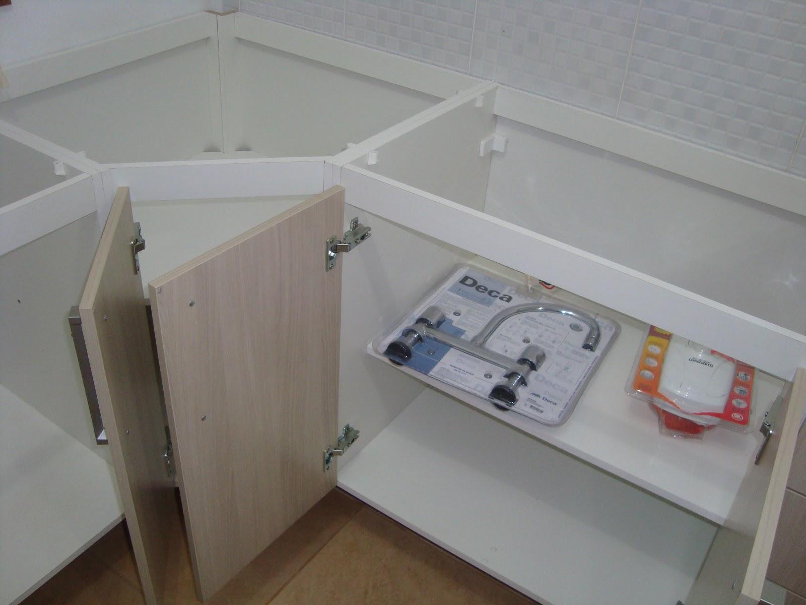 Armario De Cozinha Pequeno Ricardo Eletro ~ Construç u00e3o de um Lar N u00e3o direi que será um recomeço!