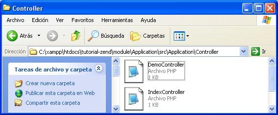 Creando nuevas vistas para el controlador con Zend Framework 2 paso a paso