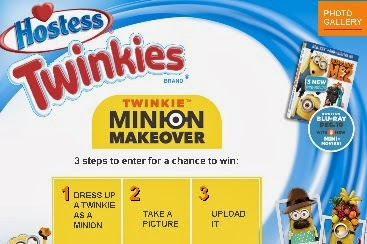 Dress Up A Twinkie Like A Minion